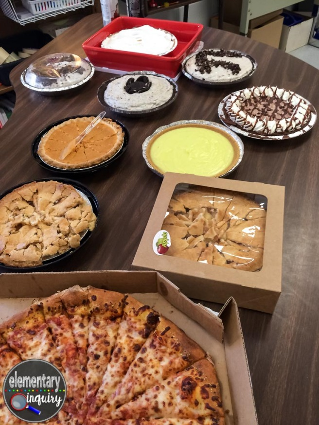 Pi Day Classroom Party