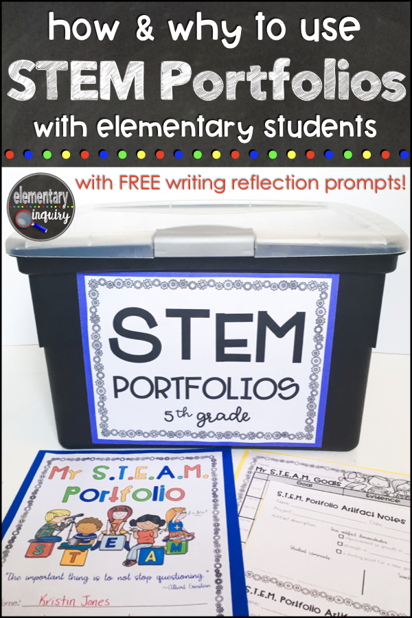 STEM and STEAM student evaluation portfolios