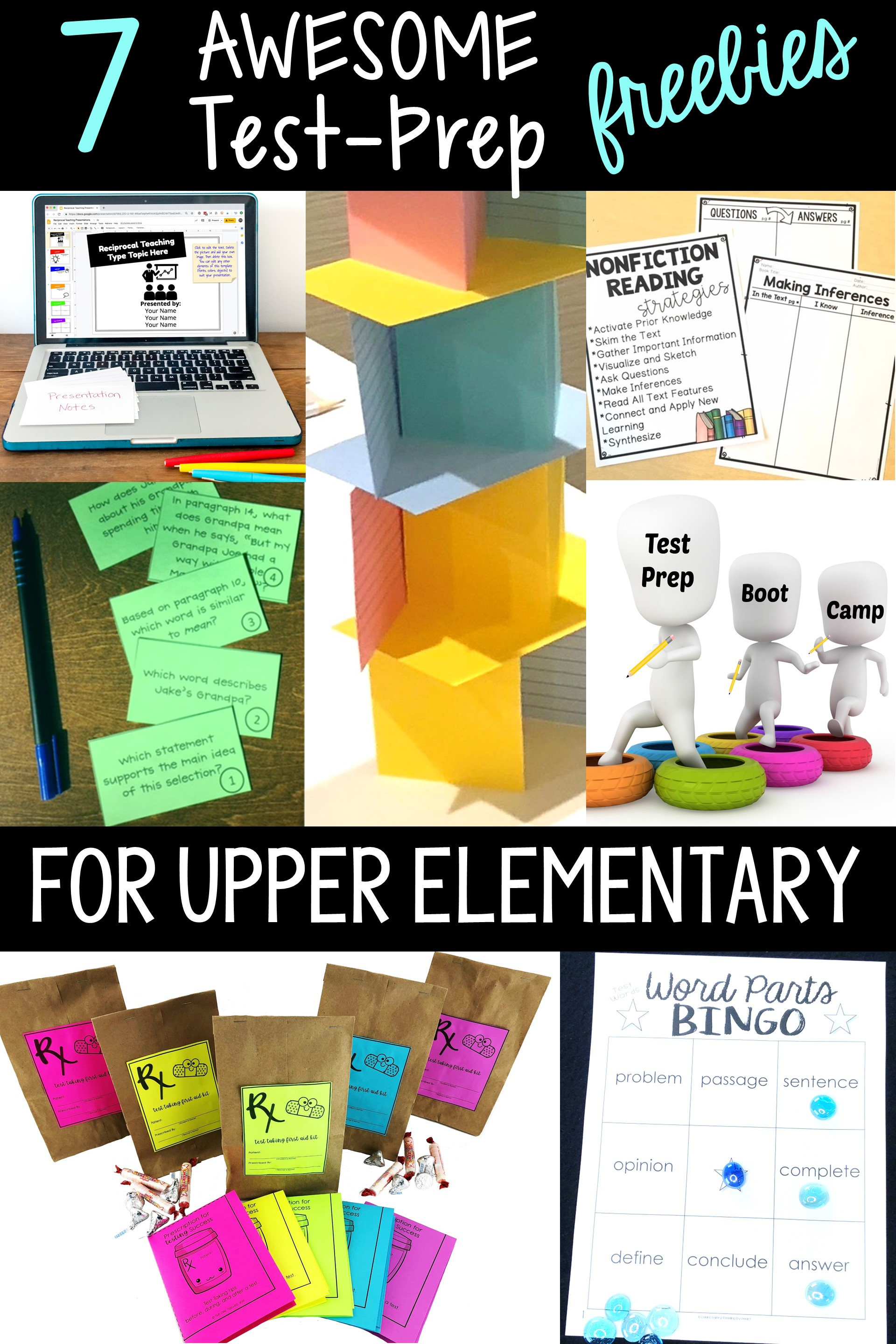 7 free test prep activities for upper elementary